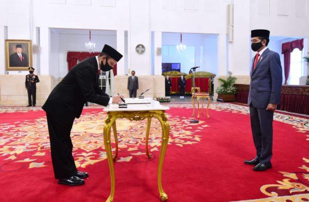 Presiden Jokowi Lantik Boy Rafli Amar Sebagai Kepala BNPT 114