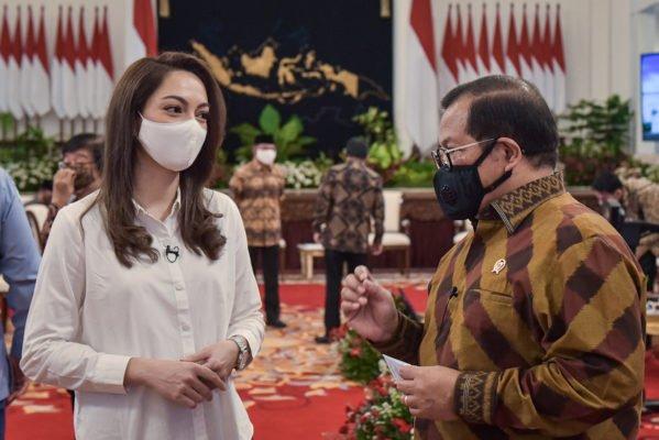 Arahan Presiden, Sidang Kabinet Paripurna Dijalankan Sesuai Protokol Kesehatan 113