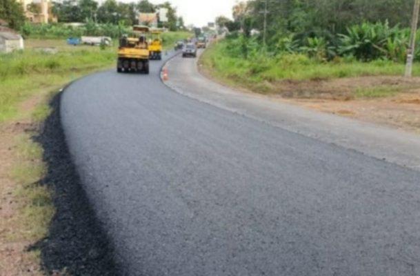 Pemerintah Terus Tingkatkan Kemantapan Jalan Lintas Timur Sumatra Selatan 113