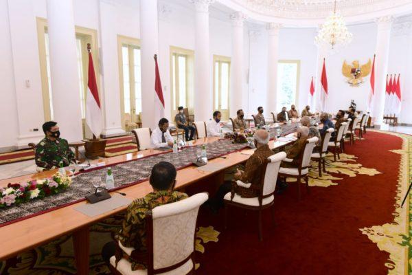 Presiden Bersama Purnawirawan TNI-Polri, Bertukar Pandangan Soal Pancasila dan Masalah Kebangsaan 101