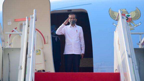 Presiden Tinjau Posko Penanganan Covid-19 hingga Proyek Padat Karya di Jateng