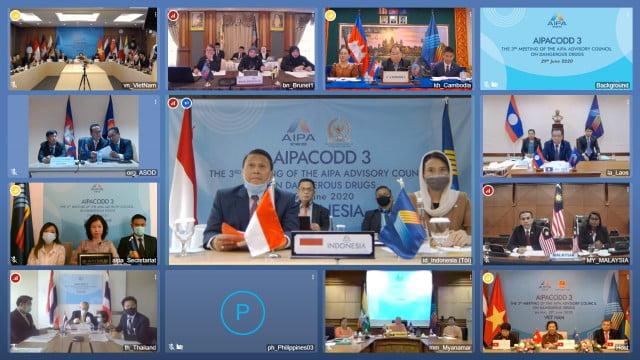 Sidang AIPA-CODD, BKSAP Ajak Perangi Narkoba 113