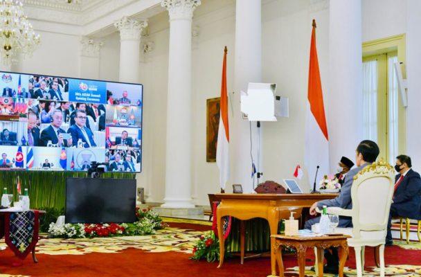 Presiden Jokowi Ikuti Pembukaan KTT Ke-36 ASEAN 102