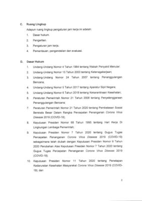 Gugus Tugas Terbitkan SE Aturan Jam Kerja Wilayah Jabodetabek Aman Covid-19 dan Produktif 103