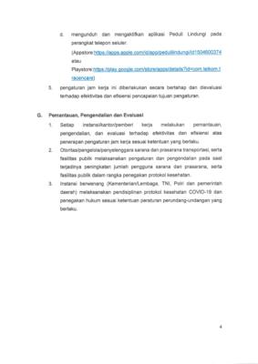 Gugus Tugas Terbitkan SE Aturan Jam Kerja Wilayah Jabodetabek Aman Covid-19 dan Produktif 105