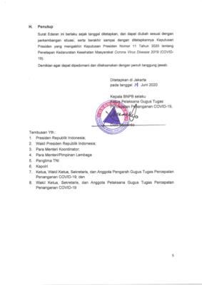 Gugus Tugas Terbitkan SE Aturan Jam Kerja Wilayah Jabodetabek Aman Covid-19 dan Produktif 106