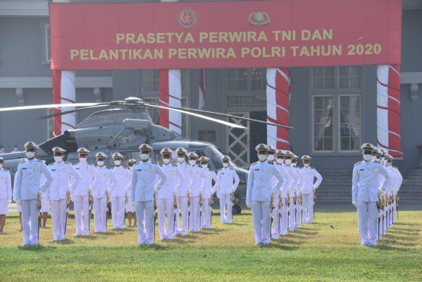97 Calon Perwira Remaja AAL, Ikuti Gladi Bersih Upacara Prasetya Perwira TNI 2020 113