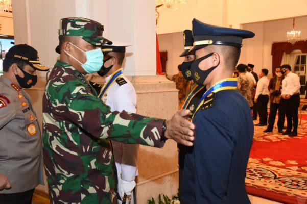 Kasum TNI Hadiri Geladi Bersih Praspa TNI-Polri 113
