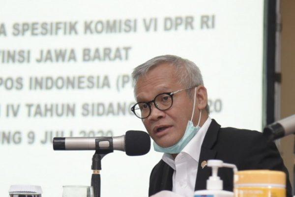 Komisi VI Komitmen Bahas RUU Sistem Perposan dan Logistik Nasional 109