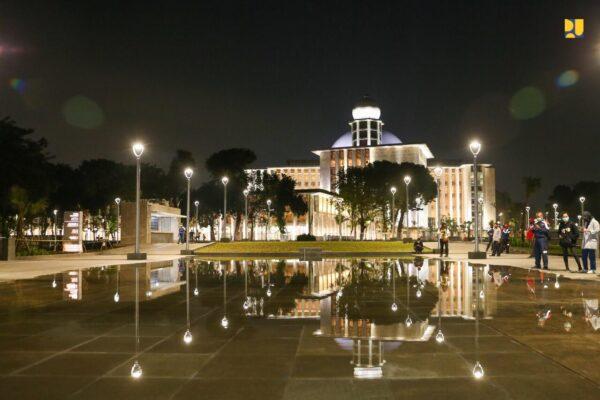 Pemerintah Selesaikan Renovasi, Masjid Istiqlal Siap Diresmikan Sebelum Idul Adha 113