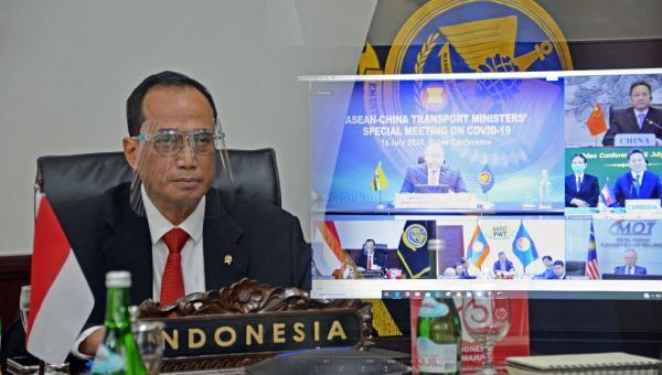 Pertemuan Virtual Menteri ASEAN, Menhub Jelaskan Penguatan Transportasi di Masa Pandemi 113