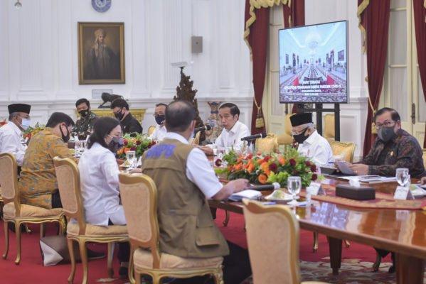 Presiden Minta Beberapa Provinsi Prioritas Laksanakan 'Testing, Tracing, dan Treatment' 109