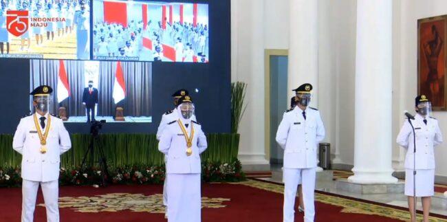Presiden : Pamong Praja Muda adalah Masa Depan Pemerintahan dan Penentu Reformasi Instansi 113