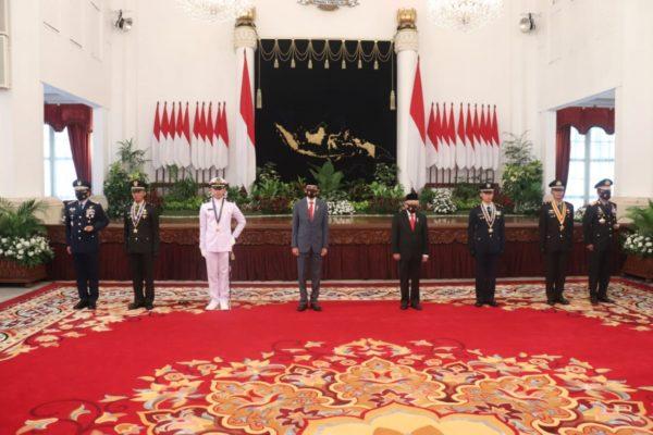 Presiden RI Lantik 750 Perwira TNI-Polri 113