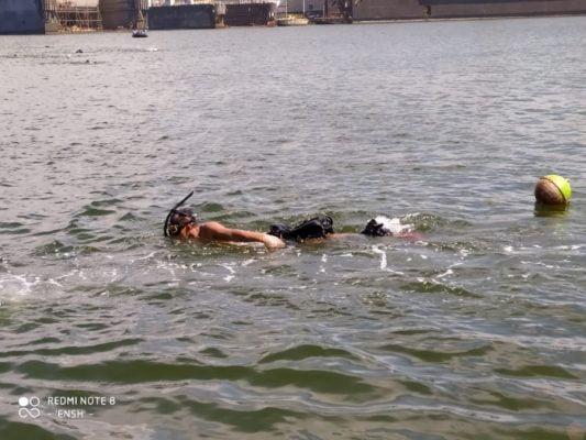 Uji Kemampuan Perorangan, Kopaska Koarmada II Laksanakan Tes Renang Laut 113