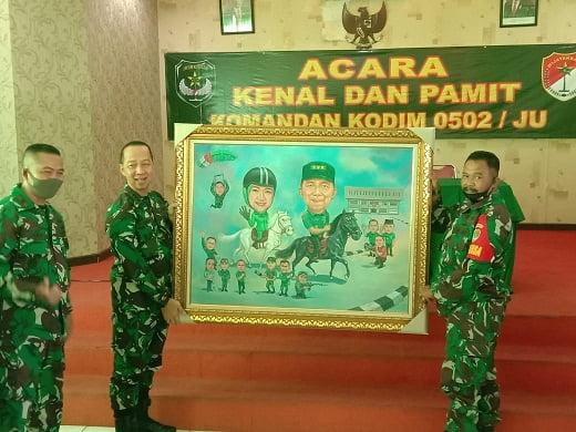 Kenal dan Pamit Komandan Kodim 0502/JU Berlangsung Normatif 101