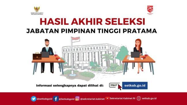 19 Peserta Dinyatakan Penuhi Syarat Calon JPT Pratama Sekretariat Kabinet 113