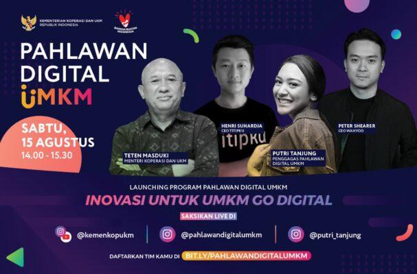 Dorong Pemanfaatan Teknologi, Program 'Pahlawan Digital UMKM' Resmi Diluncurkan 113