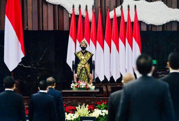 Berbaju Adat NTT, Presiden Akan Sampaikan Pidato Kenegaraan di Gedung Nusantara 114