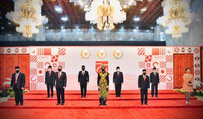 Berbaju Adat NTT, Presiden Akan Sampaikan Pidato Kenegaraan di Gedung Nusantara 113