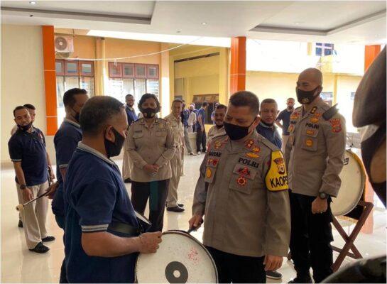 Kapolda Maluku Irjen Pol Baharudin Djafar Cek Kesiapan Korsik Polda Maluku Jelang HUT RI Ke-75 113