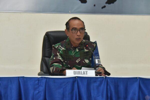 Kepala Staf Koarmada II, Buka Briefing Latihan Peperangan Laut Khusus Tahun 2020 113