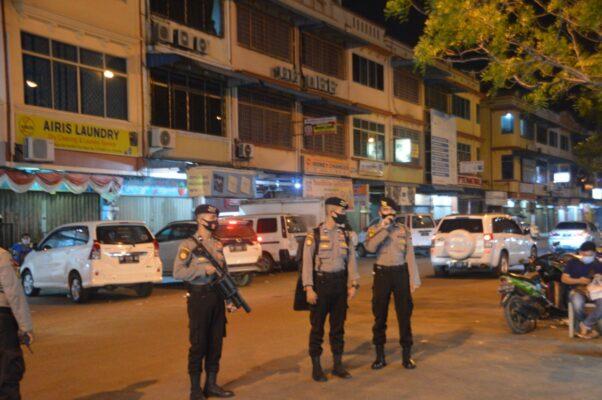 Ops Aman Nusa II Polda Kepri Kembali Patroli Dialogis di Sekitar Nagoya Dukung Adaptasi Kebiasaan Baru di Wilayah Kepri 113
