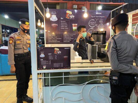 Ops Aman Nusa II Polda Kepri Kembali Patroli Dialogis di Sekitar Tiban Guna Mendukung Adaptasi Kebiasaan Baru 111