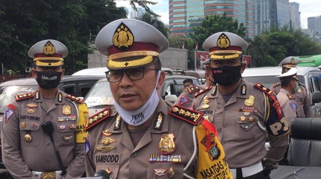 Ditlantas Polda Metro Jaya : Polisi Petugas Samsat Jaktim Meninggal Karena Pneumonia 113
