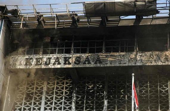 Polisi Selidiki Penyebab Kebakaran dan Petakan Sejumlah Saksi 113