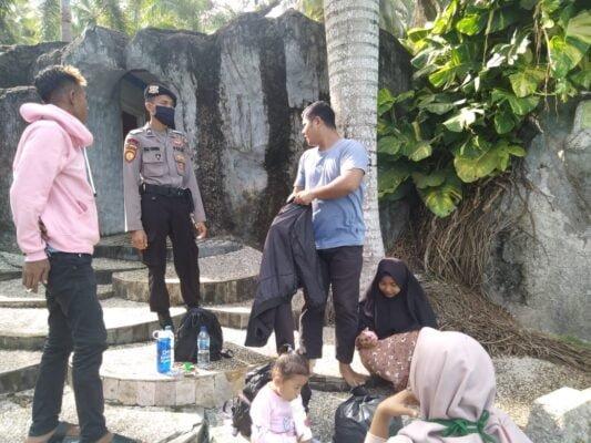 Polres Natuna Laksanakan Pam Objek Wisata dengan Perhatikan Protokol Kesehatan 113