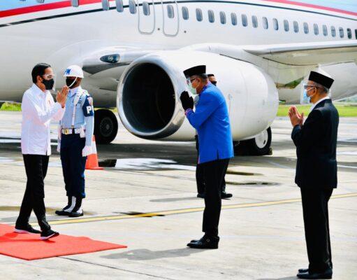 Presiden Jokowi Resmikan Jalan Tol Pertama di Provinsi Aceh 113