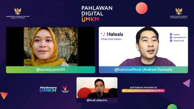 Program Pahlawan Digital Jaring Inovator Muda Kontribusi Bantu UMKM 113