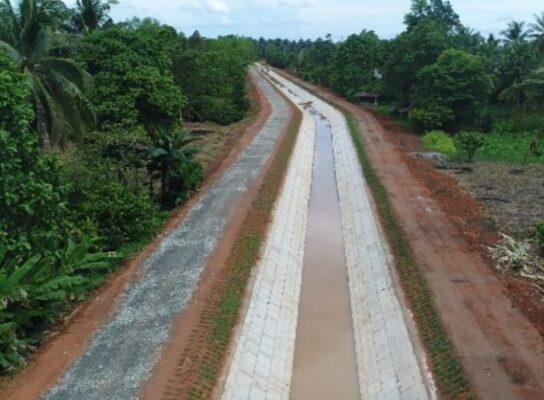 Proyek Padat Karya Bidang Sumber Daya Air Serap 163.003 Tenaga Kerja 113
