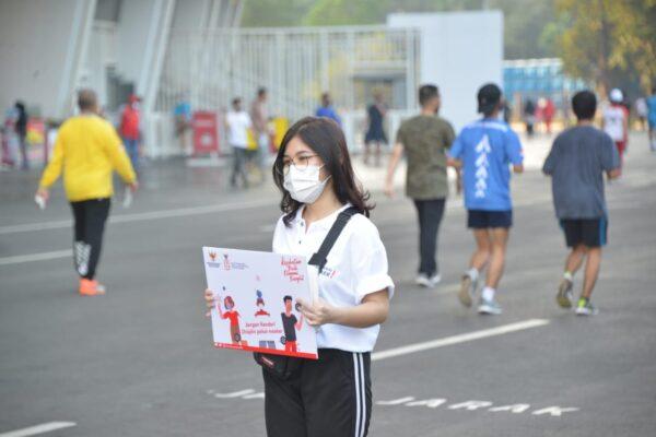 Pulihkan Kesehatan dan Ekonomi, Pemerintah Gelar Kampanye Gunakan Masker 113