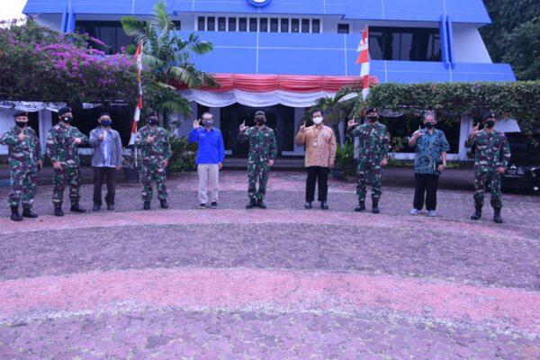 Pusinfomar TNI Melaksanakan Kunjungan Kerja ke Kantor Pustekdata Inderaja 113
