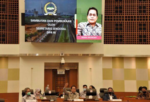 Sekjen DPR Buka Workshop Penanganan Kondisi Darurat di Kompleks Parlemen 113