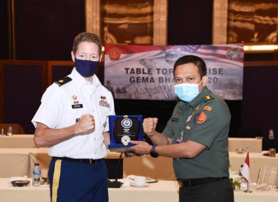 Waasops Panglima TNI Tutup Table Top Joint Exercise Gema Bhakti 2020 109