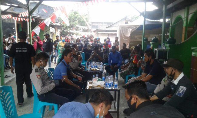 "Sidang Lapangan di Gang Karya Papanggo, BPN Jakut ""Bingung"" Tak Dapat Tunjukan Batas Tanah 116"