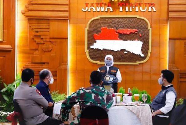Wakapolri, Komjen Pol Dr Gatot Eddy Pramono MSi, KASAD Jenderal TNI Andika Perkasa dan Gubernur Jawa Timur Khofifah Indar Parawansa 114