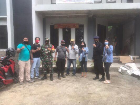 Sinergitas TNI-POLRI- Mahasiswa Unsrat Manado Dalam Pencegahan Covid-19 113