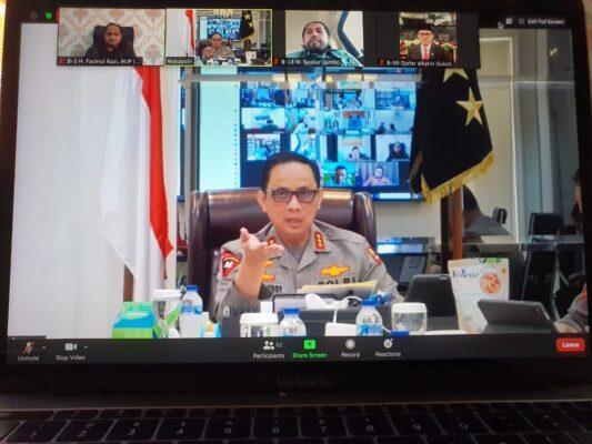 Komite I DPD RI, Kepolisian RI dan Kejaksaan RI Berkomitmen Ciptakan Keamanan dan Ketertiban di Daerah 114