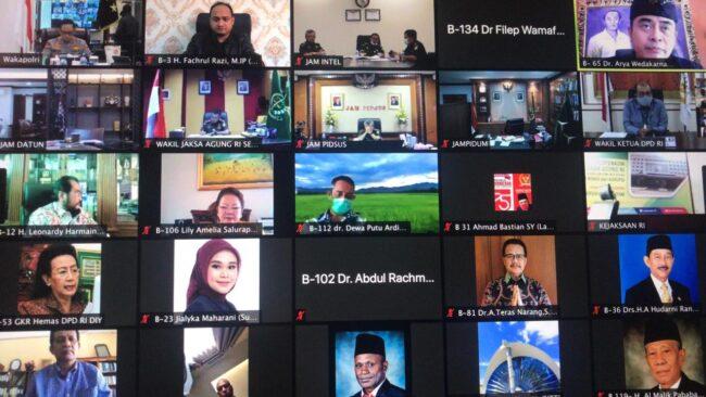 Komite I DPD RI, Kepolisian RI dan Kejaksaan RI Berkomitmen Ciptakan Keamanan dan Ketertiban di Daerah 113