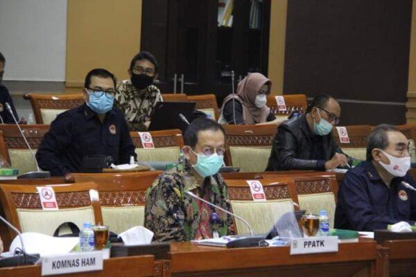 Komisi III DPR Menerima Usul Tambahan Pagu Anggaran PPATK 114