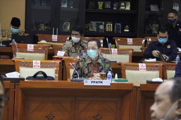Komisi III DPR Menerima Usul Tambahan Pagu Anggaran PPATK 113