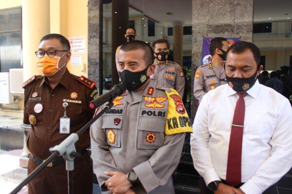 Polda Banten dan APH daerah Gelar RAPAT Koordinasi dalam rangka percepatan penyerapan anggaran Program Pemulihan Ekonomi Nasional 113