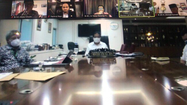 Ketua Komite I DPD RI dan Menteri ATR/ BPN Sepakat Percepat Penyelesaian Konflik Pertanahan di Daerah dan Bentuk Tim Kerja Bersama 114