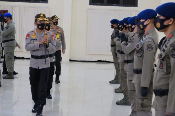 Kapolri Pimpin KPLB 34 Anggota Polri yang Bertugas di Satgas Nemangkawai 113