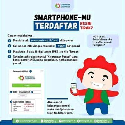 Pemerintah Terapkan Pengendalian IMEI Perangkat Telekomunikasi Berbasis CEIR 113