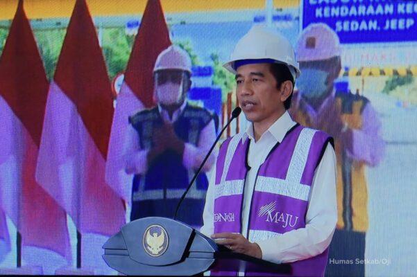 Presiden Jokowi Resmikan Tol Manado-Bitung Ruas Manado-Danowudu Sepanjang 26 Kilometer 111